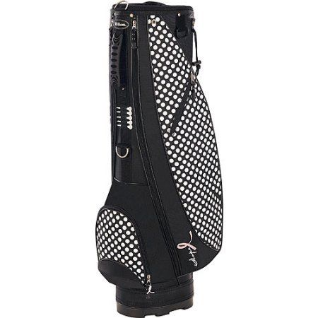 Wilson Hope Cart Women's Golf Bag, Black with White Dots