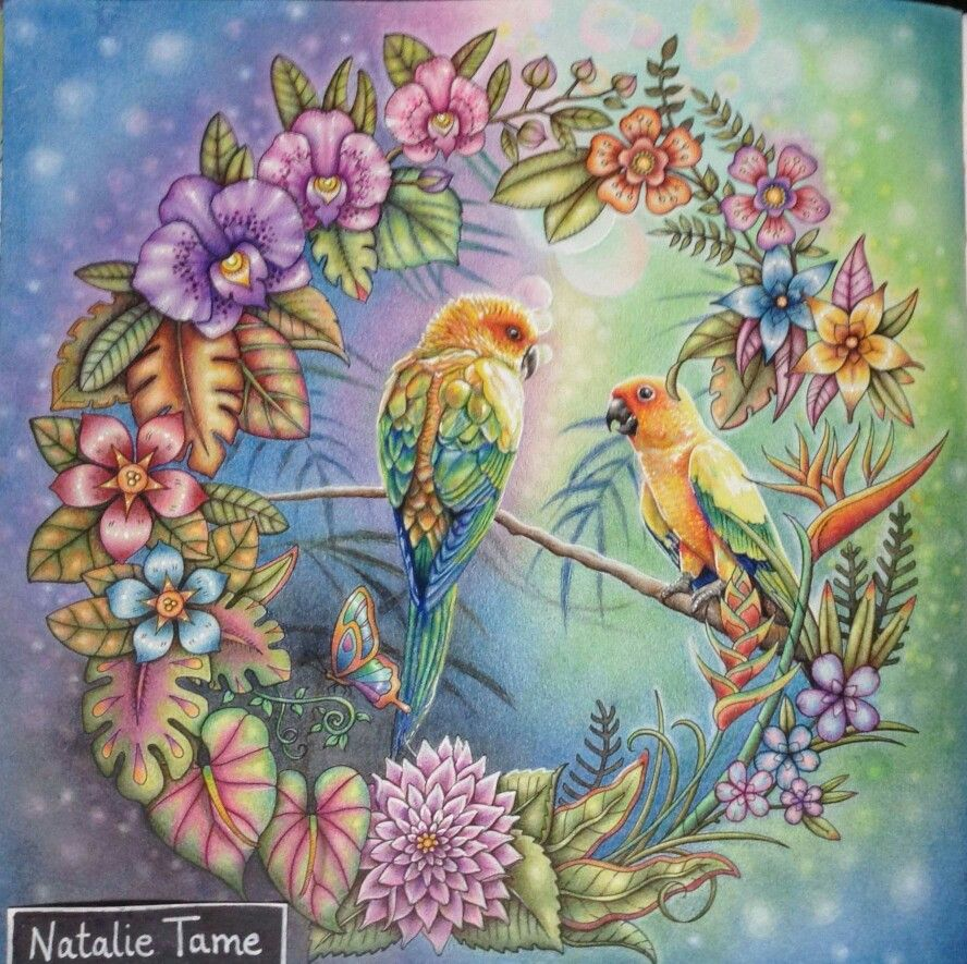 Inspirational Coloring Pages By Natalie Tame