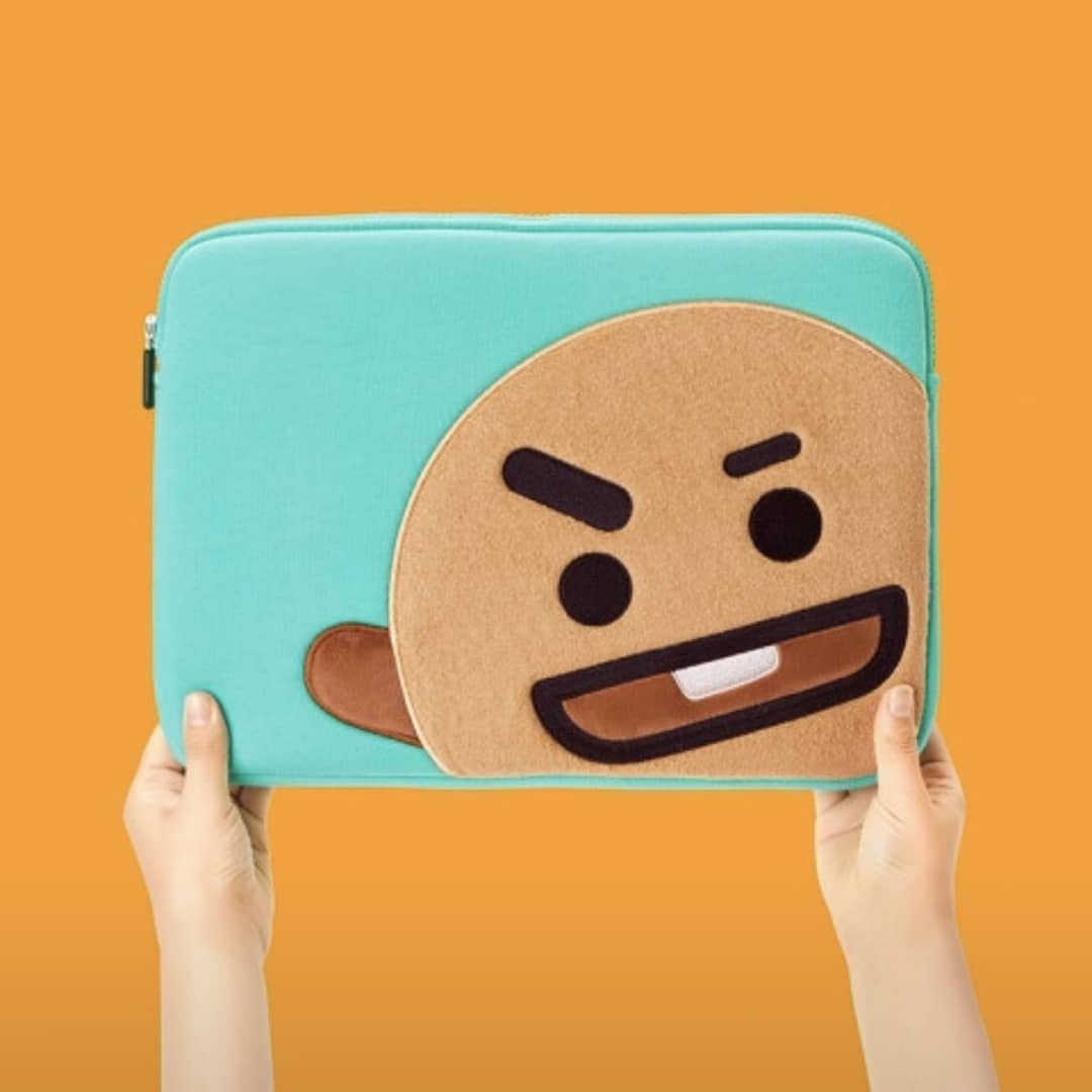 BT21 laptop sleeves. . . . . .  BTS  Koya  RJ  Shooky  Mang  Chimmy  Tata   Cooky  VAN 68645c4e7314