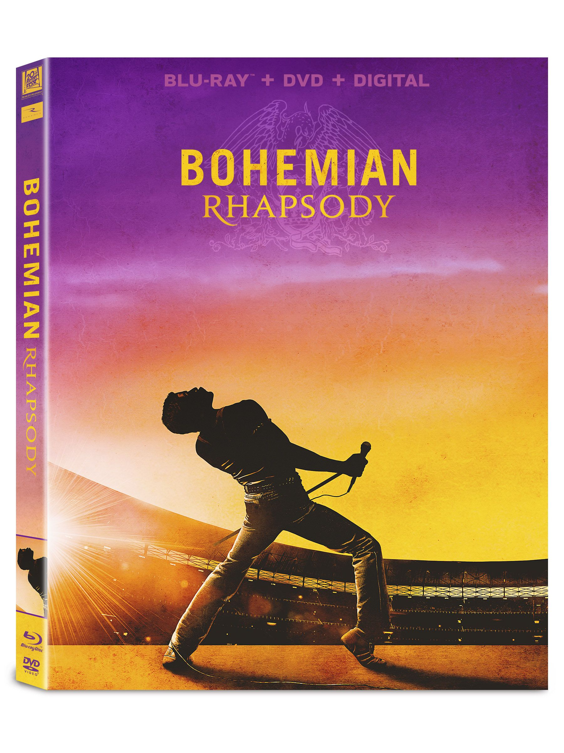 On Bluray Dvd And Digital From Director Brian Singer And 20th Century Fox Home Entertainment Comes The Story Of A Legend That Liv Bohemian Rhapsody Dvd Blu Ray