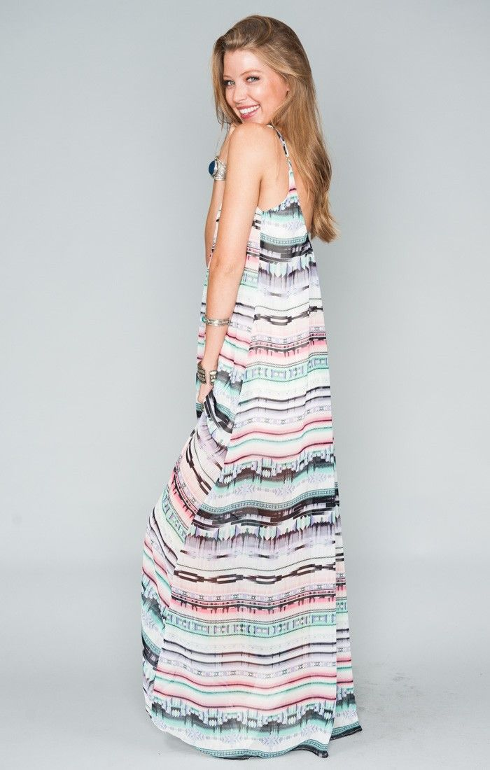 cffdd0f8239 Trapeze Maxi Dress - Saved by Screech