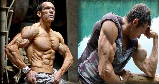 كيف تتمرن حديد في رمضان كيف 24 Old Bodybuilder Bodybuilding Muscular Men