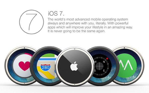 c8c85c51515 An iWatch concept that looks more like a classic watch style.  watch  iOS