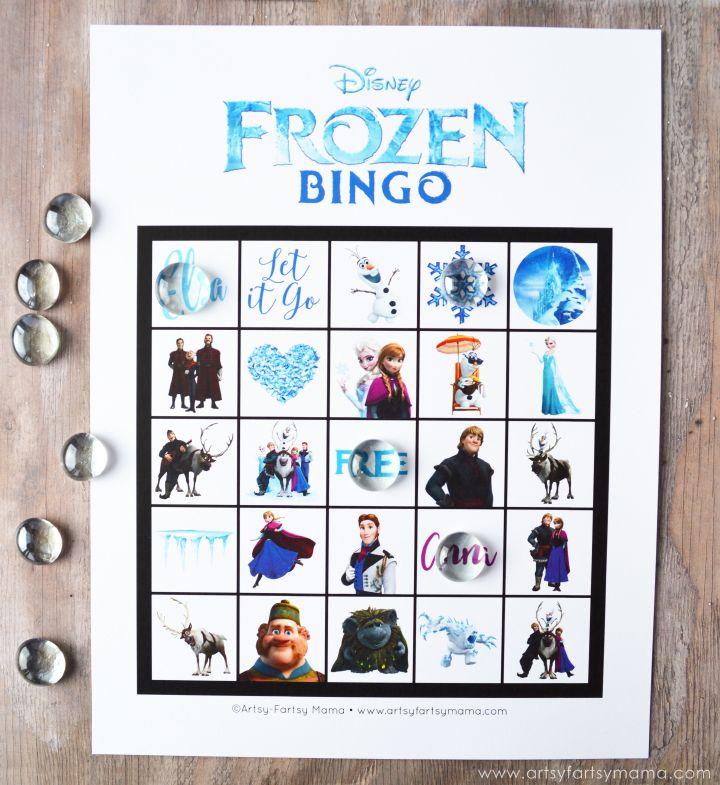 Free Printable Frozen Bingo