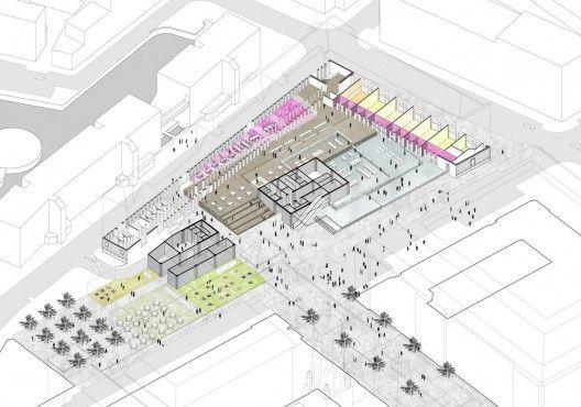 1256132729-stadskantoor-axo-528x370jpg (528×370) architecture - program proposal template