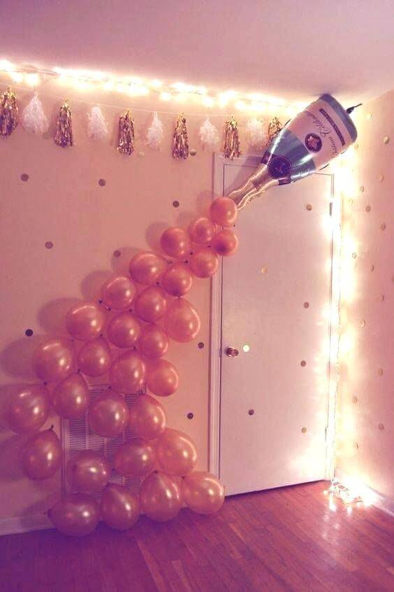 70 Best New Year Home Decoration Ideas 2020 Home Decor Ideas Uk 21st Birthday Diy Birthday Party 21 Diy Birthday Party