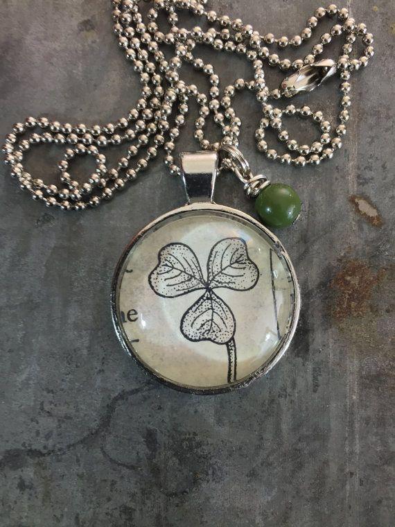 Shamrock necklace for st patricks day isnt this fun 21 shamrock necklace for st patricks day isnt this fun 21 kraftykash aloadofball Images