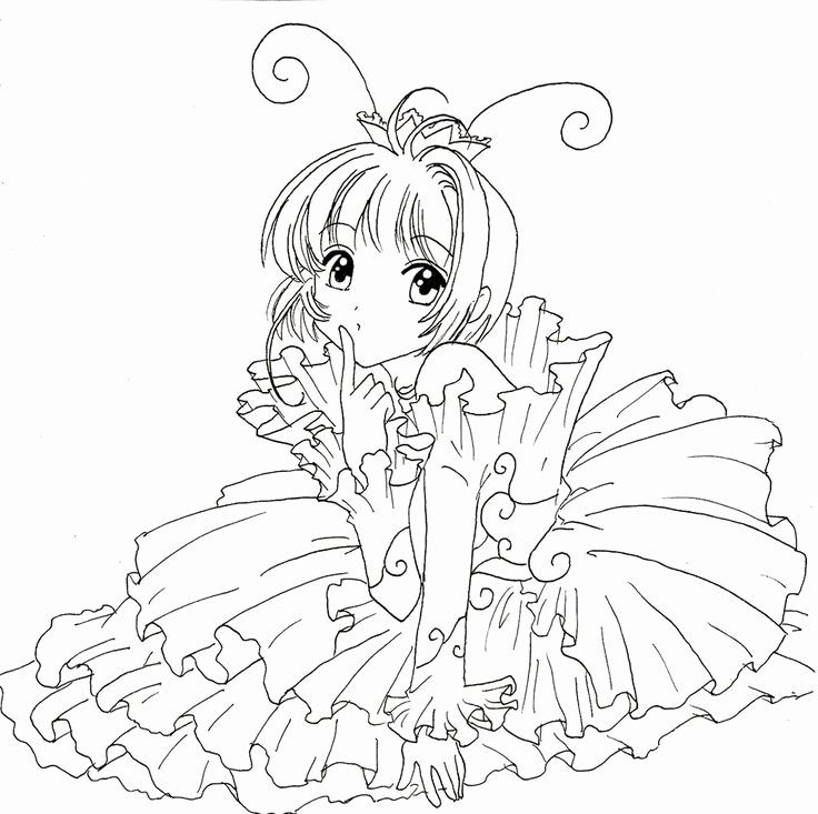 Anime Christmas Coloring Pages in 2020 (With images ...
