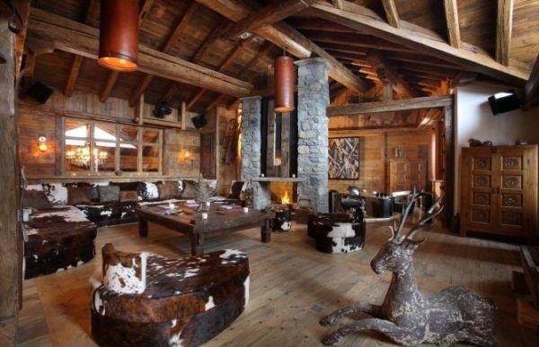 60 Einrichtungsideen, Dekorationen und Möbel im Chalet-Stil #chalet ...