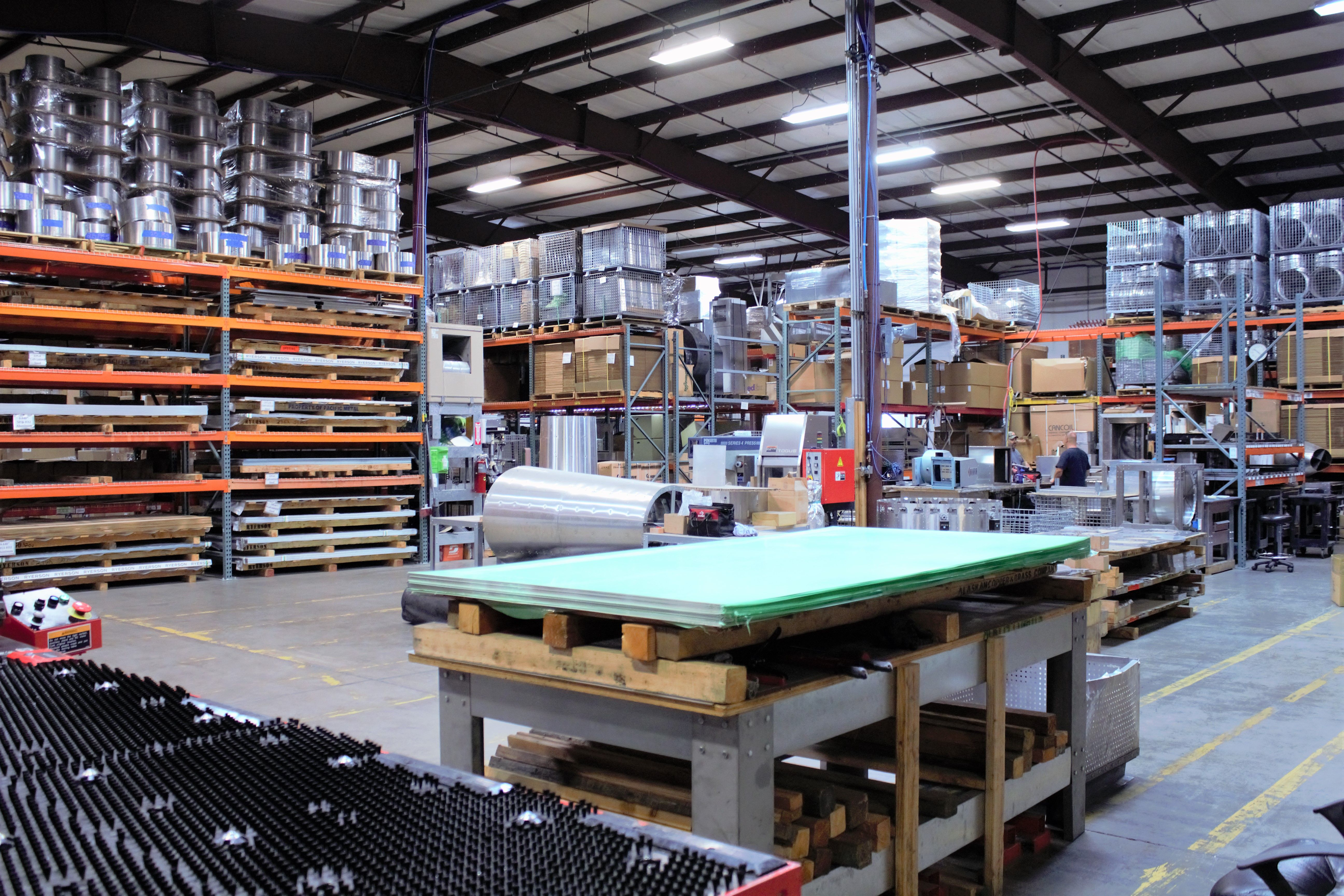 The Inside Of Our Warehouse Located In Southern Oregon With