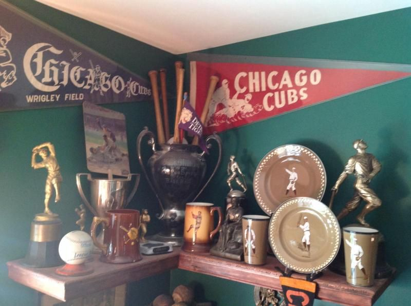 My Collection Antique Baseball Trophy Pennants
