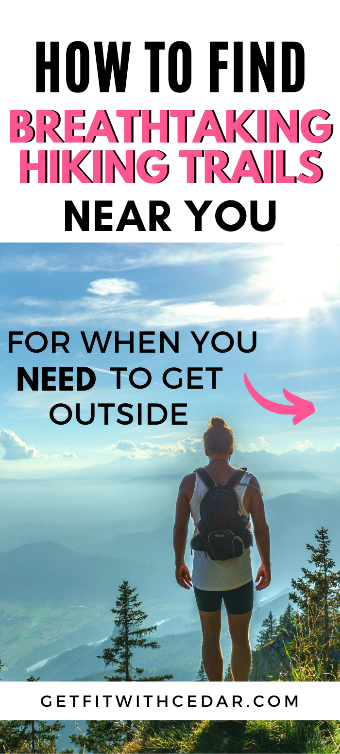 Looking for things to do outside? This post tells you how to find beautiful hiking trails near you -...