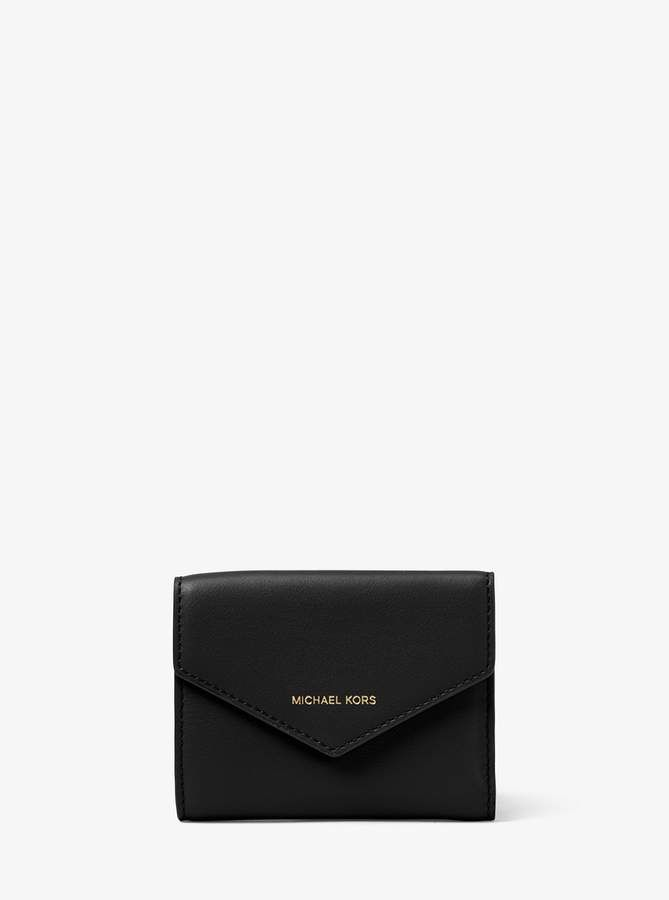 069cfa88516b MICHAEL Michael Kors Jet Set Small Leather Envelope Wallet ...