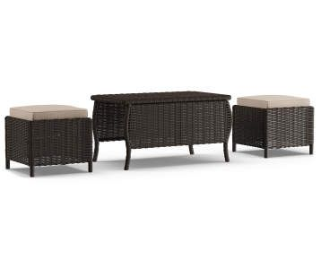 Best Wilson Fisher Oakmont 5 Piece Patio Furniture Collection 640 x 480