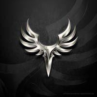 Ailes De La Nuit Wings Of The Night Clan Logo By Littleboyblack Logo Dragon Logo Design Art Fantasy Logo