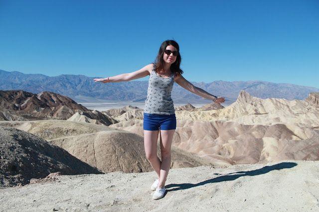 Les Gommettes de Melo: dans le Death Valley.