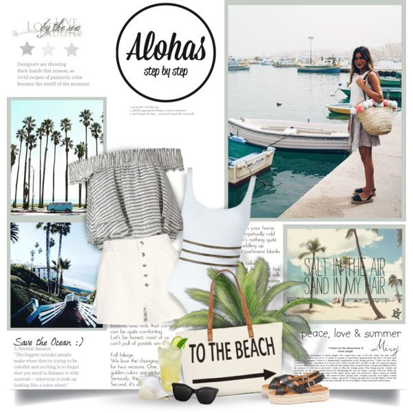 A fashion look from June 2016 by thewondersoffashion featuring Apiece Apart, Tooshie, Straw Studios, Givenchy, intermix, ApieceApart e alohassandals