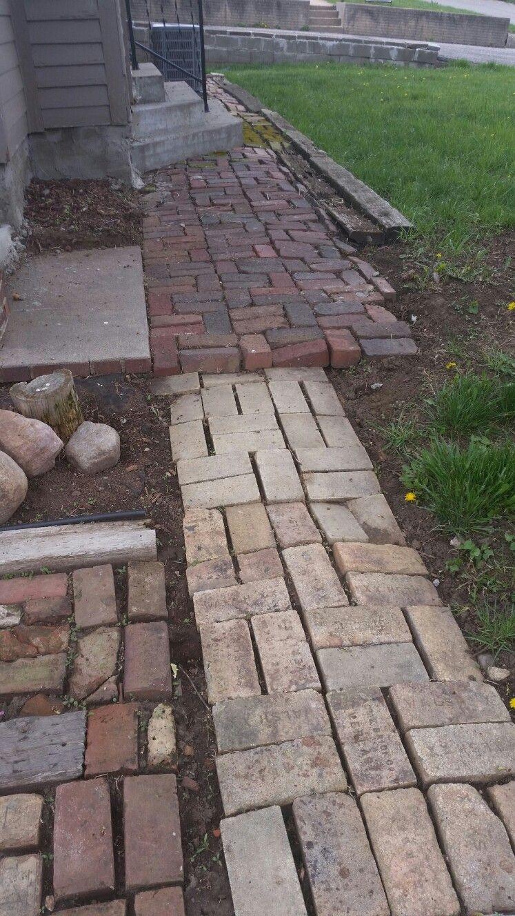 Beginning of the brick mess