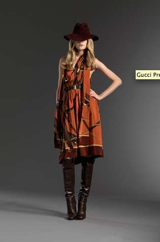 Forever Boho Fashion : Gucci Pre-Fall 2011