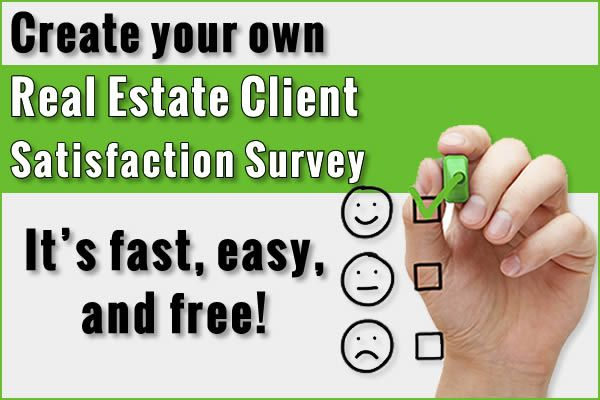 How to create your own real estate client satisfaction survey using