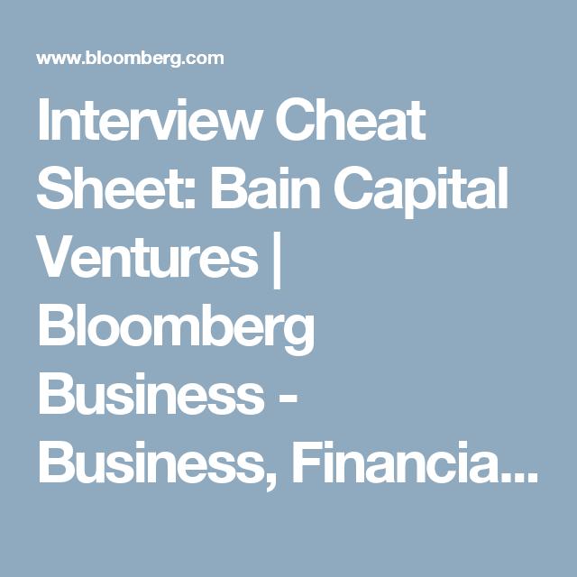 Cheat Sheet: How to Get a Job as an Associate at Bain