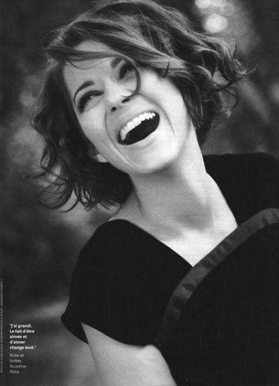 Marion Cotillard ! She's so pretty <3