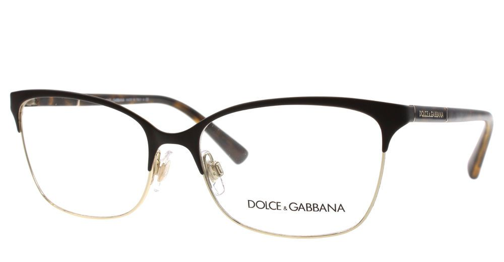 new dolce gabbana eyeglasses women cat eye dg 1268 havana 1254 dg1268 54mm - Dolce And Gabbana Glasses Frames