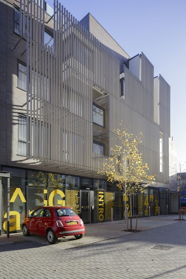 Shoreditch Apartments   Benedetti Architects   Archinect