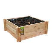 Potager Carre Meleze 80x80x30cm 502691 Garden Outdoor Decor Outdoor Storage