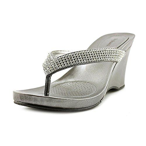 Style & Co Bekah Womens Size 7.5 Silver Open Toe Wedge Sandals Shoes Style & Co. http://www.amazon.com/dp/B00KYIG6HE/ref=cm_sw_r_pi_dp_E.KDub07HQJB1