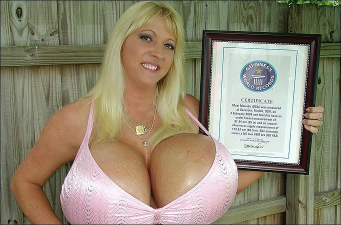 Bilderesultat for worlds biggest breast