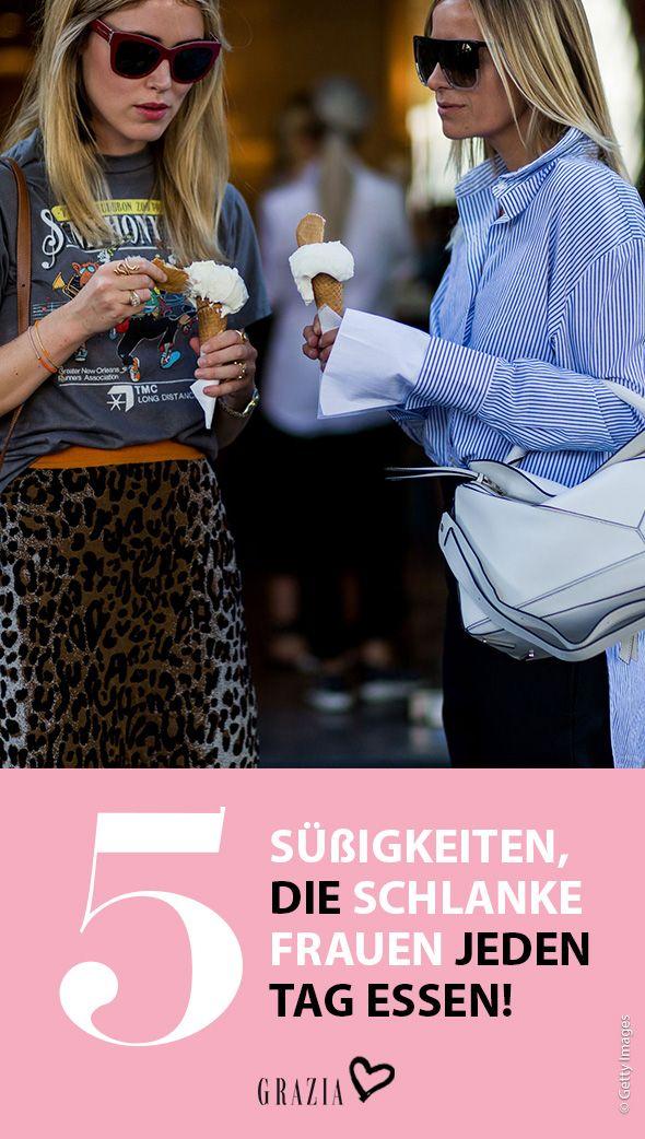 Diese Süßigkeiten essen schlanke Frauen jeden Tag