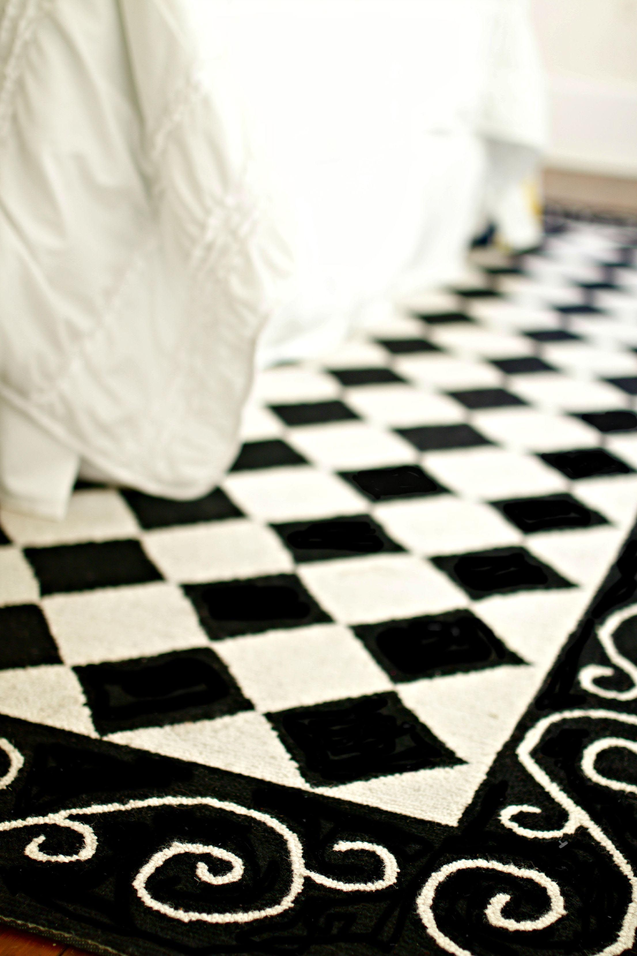 Checkered Carpet Black And White Black And White Carpet White Carpet Bedroom White Carpet