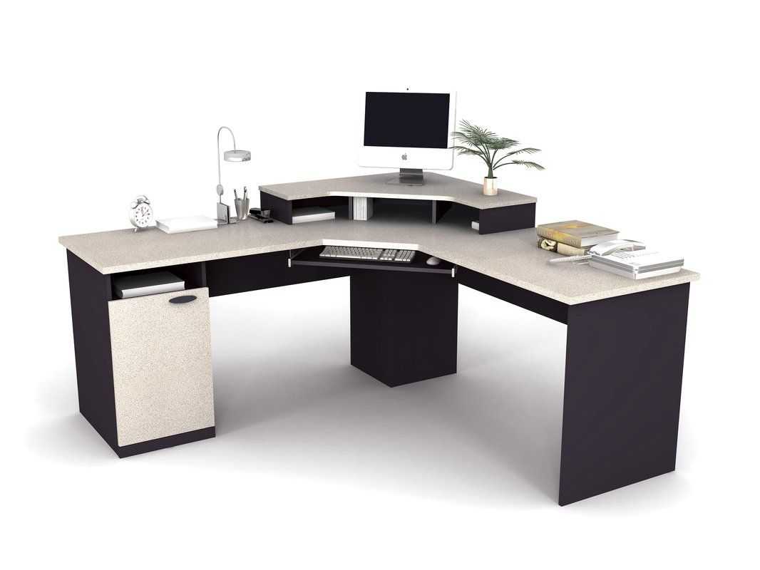 Hampton L-Shape Computer Desk | New House--Office in 2019 ...