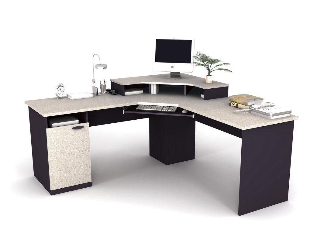 Hampton L Shape Computer Desk Computer Desk Design Home Office Furniture Sets Modern Corner Desk