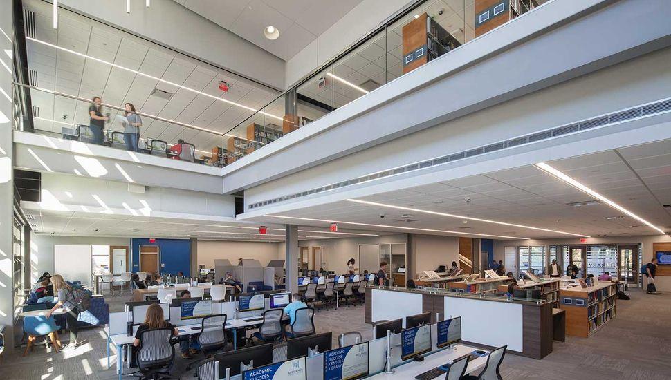 MTC Library Quackenbush Architects + Planners