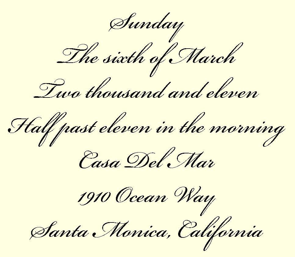 Dazzling Attractive Wedding Invitation Fonts