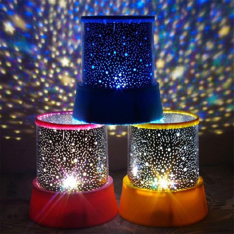 Fancy LED Planetarium Nachtlichter Sternenhimmel Stern hauptprojektor lampen Projektion f r Kinder Schlafzimmer Baby Schlafen Lampe