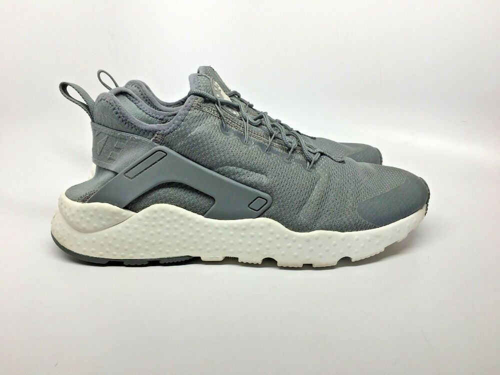 outlet store d4ef5 20d38 NIKE Womens Sz 11 Air Huarache Run Ultra Low Top lace Up Gray  819151-006  VGC!  Nike  RunningShoes