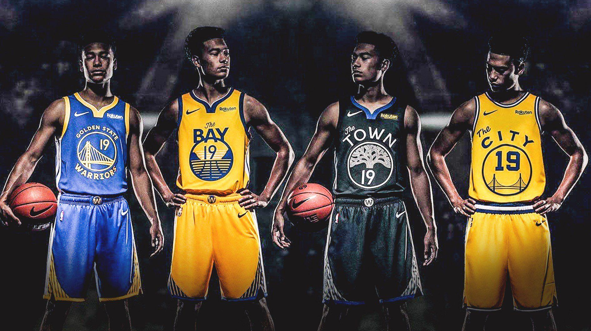 new product 565a5 455b6 Golden State Warriors: NBA Fans Spot Flaws in Warriors' New ...