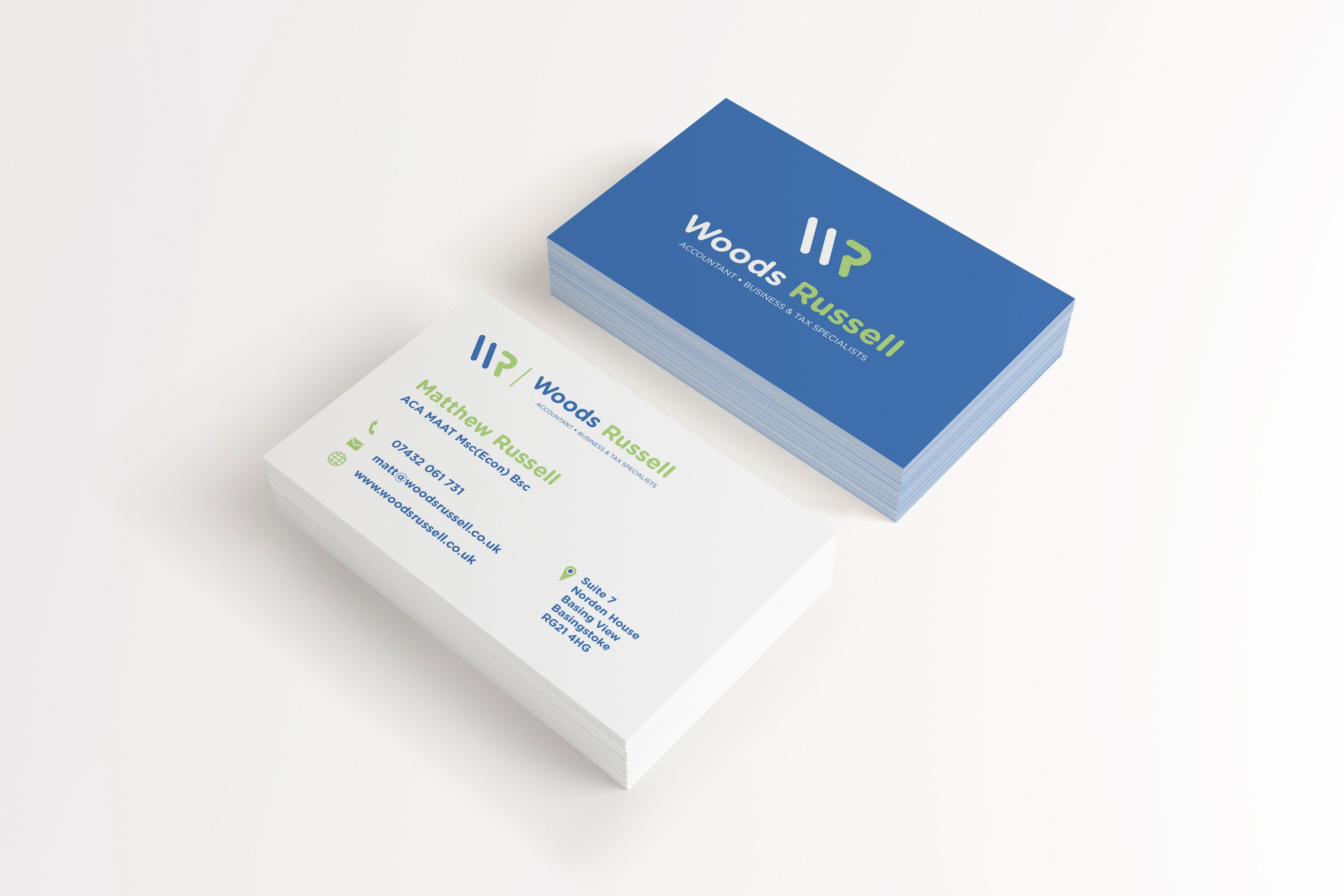 Woods Russell Business Cards Stationery Branding Branding Stationery
