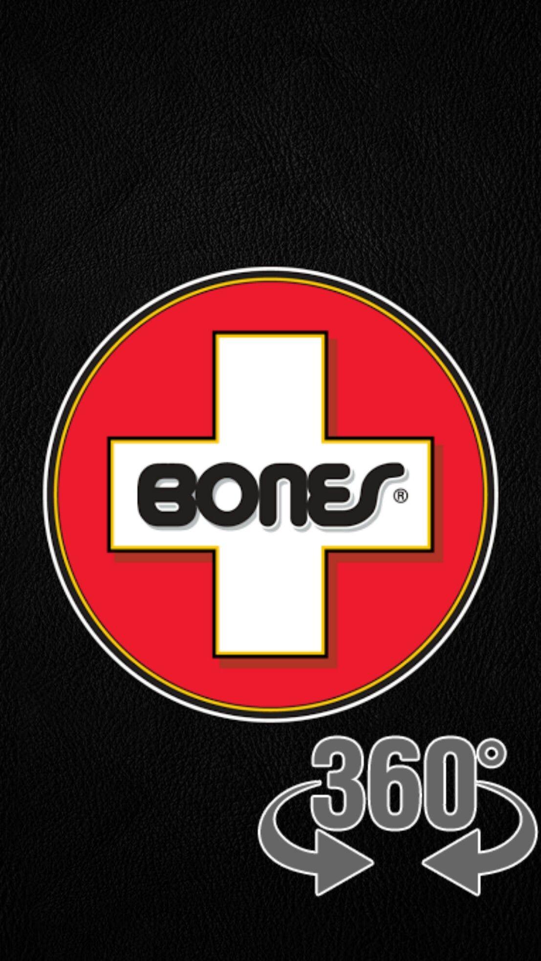 Skateboard Loading Black Wallpaper Android Iphone Logo Sticker Bones Brigade Skateboard Logo