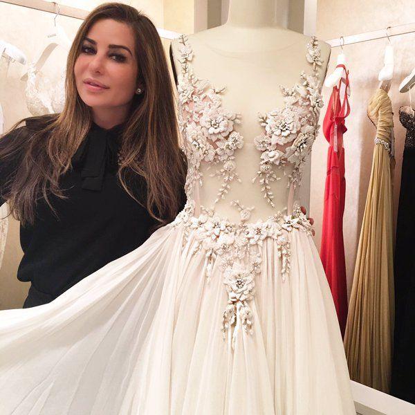 Pina Wedding Gown: Pnina Tornai (@pninatornai)