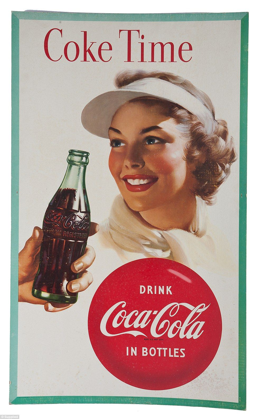 From pin ups to sportsaid seven decades of coca cola advertising