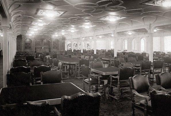 Captivating Titanic 3rd Class Dining Room