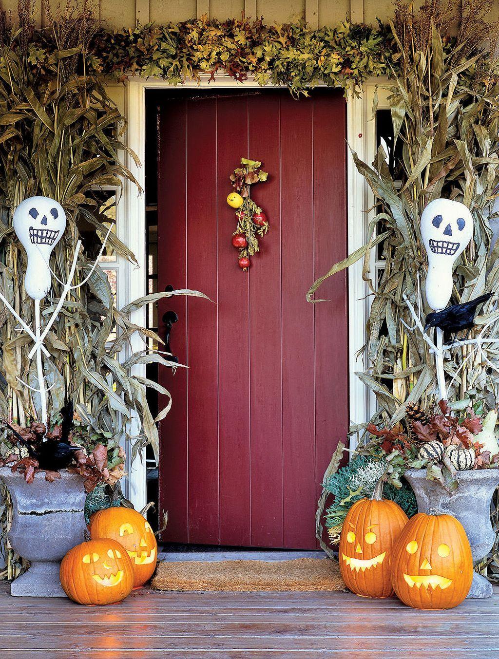 64 Outdoor Halloween Decoration Ideas Outdoor halloween - outdoor halloween decorating ideas