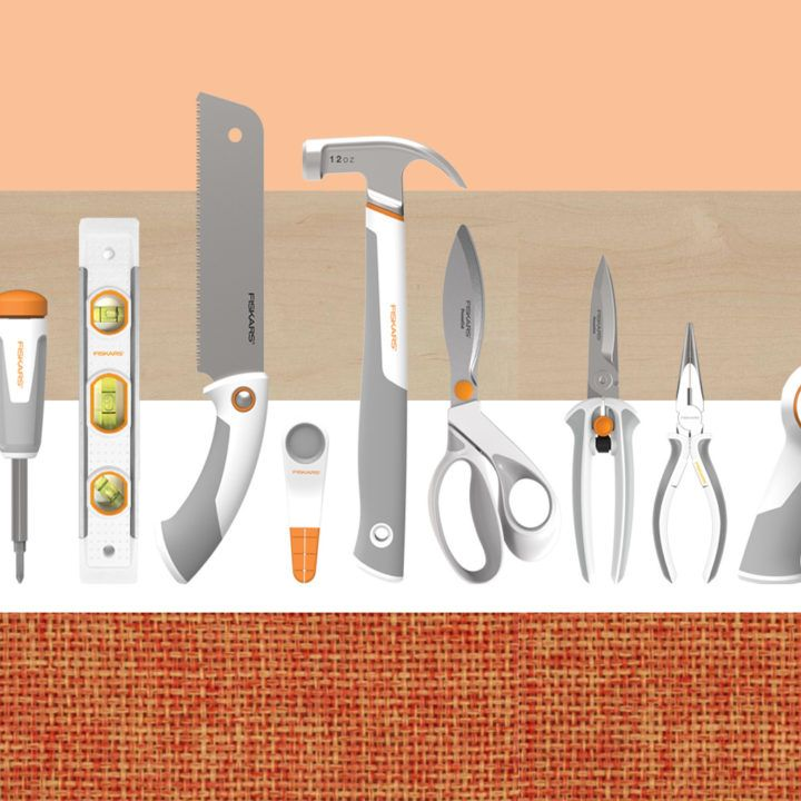 Diy Magnetic Knife Strip: Introducing The New Fiskars DIY Tool Line