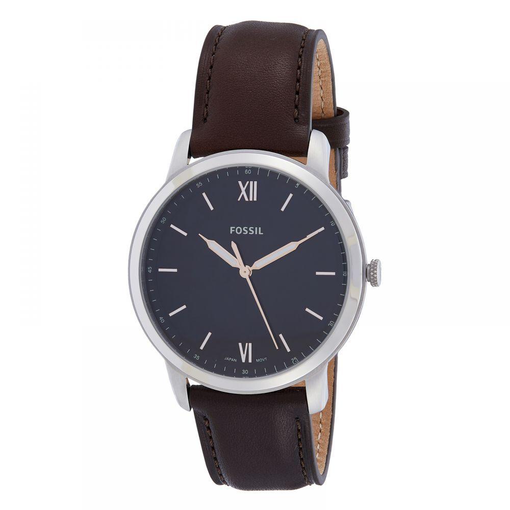 فوسيل ساعة عملية كاجوال رجال انالوج بعقارب جلد Fs5464 Leather Watch Leather Accessories