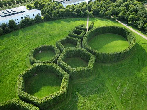 The Geometrical Gardens By C.Th. Sørensen The Hedges Are