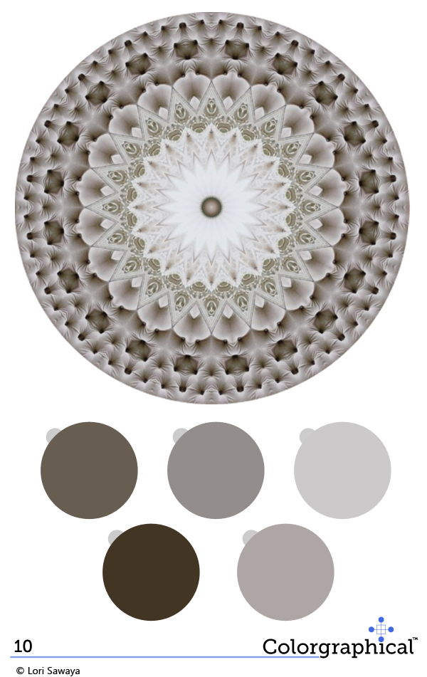 Color scheme ideas from a professional color designer. Interior and Exterior color schemes. Color Inspiration Glidden Paint No. 10 - Swatch Right™ Burrwood